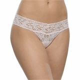 Hanky Panky Lace Low Rise Thong Bliss - Pink
