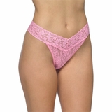 Hanky Panky Lace Original Rise Thong Lip Gloss - Pink