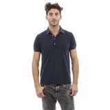Heritage Cotton Navy Blue Polo Shirt