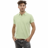 Heritage Lime Green Cotton Polo Shirt
