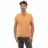 Heritage Orange Medium Cotton Polo Shirt