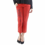 Iceberg Capri Pants - Red