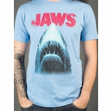 Jaws Logo Graphic Tee - Blue