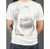 Jaws Retro Graphic Tee - White