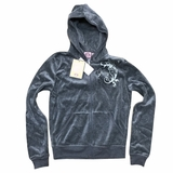 Juicy Couture Heather Prestige Hoodie Jacket - Gray