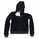 Juicy Couture Lured Crest Hoodie Jacket - Black