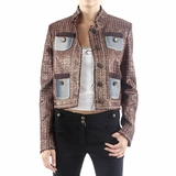Just Cavalli Pocket Jacket - Copper Brown