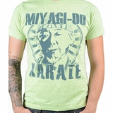 Karate Kid Mr Miyagi Graphic Tee - Green
