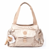 Kipling Fairfax Shoulder Bag - Gold