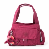 Kipling Fairfax Shoulder Bag - Red