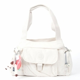 Kipling Fairfax Shoulder Bag - White