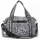 Kipling Itska Leopard Print Duffle Travel Bag - Multi Color