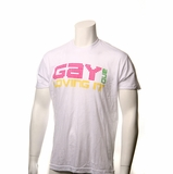 "Legend in Action ""Gay And Loving It"" T-Shirt White"