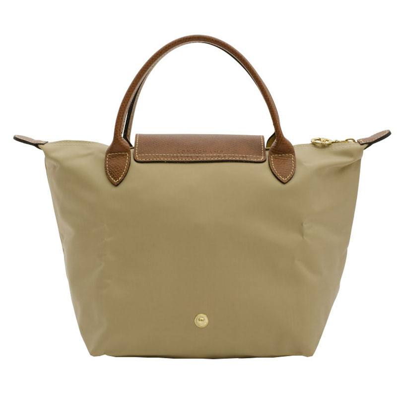 Sac longchamp pliage beige : Authentic longchamp le pliage nylon handbag