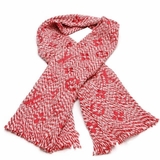 Louis Vuitton Logomania Mix Scarf/Wrap - Red
