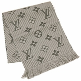 Louis Vuitton Logomania Scarf M72242 - Light Gray