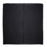 Louis Vuitton M71329 Monogram Shawl - Black