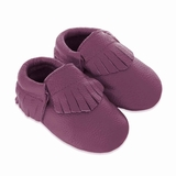Mac&Lou Baby Gladiator Leather Moccasins Rain - Purple