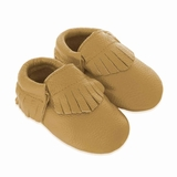 Mac&Lou Baby Gladiator Leather Moccasins Rush - Gold