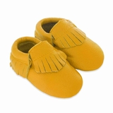 Mac&Lou Baby Gladiator Leather Moccasins Submarine - Yellow