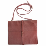 MAC&LOU Crossbody Best Friend Bag - Burgundy