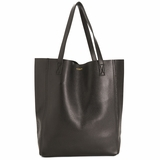 MAC&LOU Perfect Leather Tote Alpha - Black