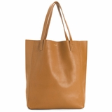 MAC&LOU Perfect Leather Tote Alpha - Brown