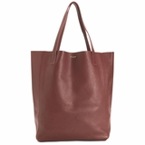 MAC&LOU Perfect Leather Tote Alpha - Burgundy