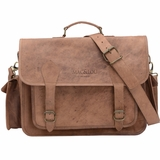 Mac&Lou Sirius Leather Camera Messenger Bag - Brown