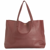MAC&LOU The Perfect Leather Tote Omega - Brown