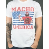 Macho Man America Graphic Tee - White