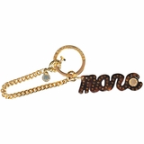 Marc By Marc Jacobs Keeling Keychain - Gold