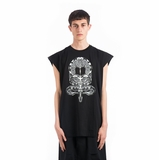 Marcelo Burlon Miguel Tank Top - Black