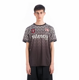 Marcelo Burlon Ray Soccer T-shirt - Gray