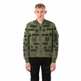 Marcelo Burlon Roldan Alpha Jacket - Military Green
