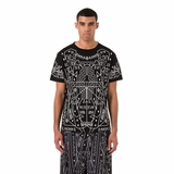 Marcelo Burlon Salomon T-shirt - Black