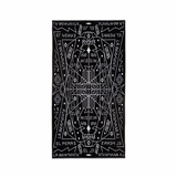 Marcelo Burlon Salomon Towel - Black