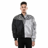 Marcelo Burlon Talca Alpha Ma-1 Jacket - Black