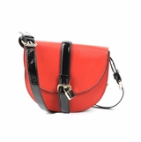 Melie Bianco Allie Flap Over Messenger Bag - Sienna Red