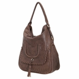 Melie Bianco D2308 Phillipa Shoulder Bag - Beige