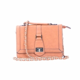 Melie Bianco Edith Top Handle Satchel Bag - Beige