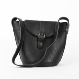 Melie Bianco Gail Structured Bucket Bag - Black