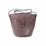 Melie Bianco Gail Structured Bucket Bag - Brown