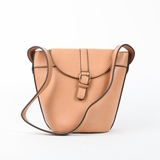 Melie Bianco Gail Structured Bucket Bag - Camel