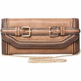 Melie Bianco The Darla Clutch - Taupe