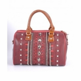 Nicole Lee Sienna Handbag - Red