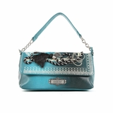 Nicole Lee Vivian Rope And Tassel Mini Chain Bag - Blue