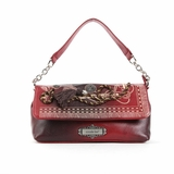 Nicole Lee Vivian Rope And Tassel Mini Chain Bag - Red