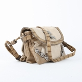 Nicole Lee Wilma Buckled Handbag - Taupe