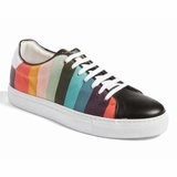 Paul Smith Artist Stripe Basso Trainers - Multi-colour